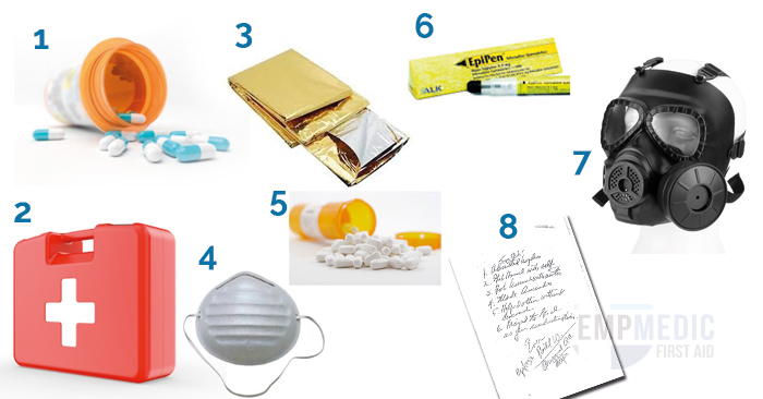 first aid items for survival