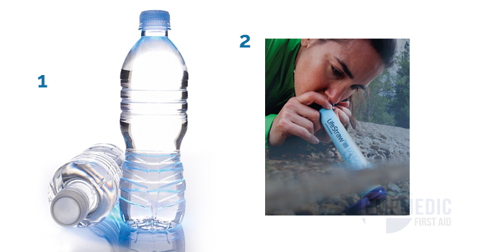 water and lifestraw